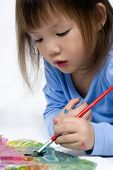 Serie de pintura infantil (en el piso)