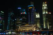 Singapore City By Night