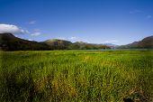 Island Margarita, Venezuela, Mountains, Hills, Meadow, Skies, Green, Clouds