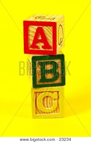 ABC Blocks poster