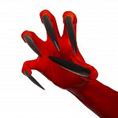 Evil red claw.