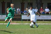 KAPOSVAR, HUNGARY - SEPTEMBER 5: Unidentified players in action at the Hungarian National Championsh