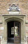University Of Cambridge, St Mary Magdalene College Doorway To Hall