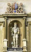 University Of Cambridge, Trinity College, Statue Of King Edward Iii, Fourteenth Century Founder