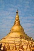 Shwedagon Pagoda In Yangon, Burma