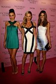 LOS ANGELES - MAR 25: Miranda Kerr, Candice Swanepoel, Alessandra Ambrosio arrive as Victoria's Secret celebrates the 15th anniversary of the Swim Catalogue in Los Angeles, California, March 25, 2010