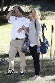 LOS ANGELES - OCT 3: Kelly Osbourne and Louie Vito at the Celebrity Snowboarding Event with the US O