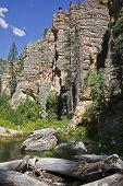 Remote wilderness in Arizona
