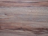 Surface Wood Texture In Details. Wood Texture Top. Hardwood Texture With Knots. poster