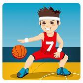 Active Basketball Player