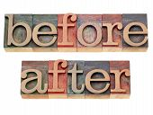 Before And After Words