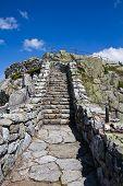 Felsige Treppe Fall