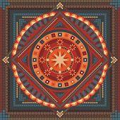 Mandala abstracto