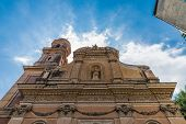 Menton France. 17 June 2019. A View Of The Chapel Of The Immaculate Conception In Menton In France poster
