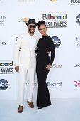 LAS VEGAS - MAY 20: Swizz Beatz, Alicia Keyes at the 2012 Billboard Music Awards held at the MGM Gra
