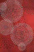 Soft Colorful Pattern With Mandala Element. Vintage Decorative Elements.  Islam, Arabic, Indian, Ott poster