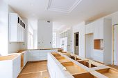 Custom Kitchen In Various Of Installation Base Cabinets Kitchen Remodel poster