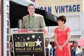 LOS ANGELES - MAY 22: Patricia Heaton, Neil Flynn at a ceremony honoring Patricia Heaton with a Star