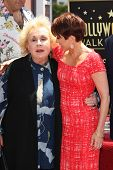 LOS ANGELES - MAY 22: Patricia Heaton, Doris Roberts at a ceremony honoring Patricia Heaton with a S