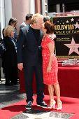 LOS ANGELES - MAY 22:  David Hunt, Patricia Heaton at the ceremony honoring Patricia Heaton with a S