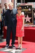 LOS ANGELES - MAY 22:  David Hunt, Patricia Heaton at the ceremony honoring Patricia Heaton with a S