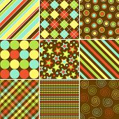 Colorful Background Patterns