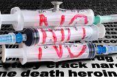 Three Disposable Syringe