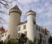 Постер, плакат: Замок Конопиште Чешская Республика