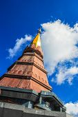 Pinnacle Of The Chedi In Doi Inthanon National Park , Chiang Mai Province, Thailand
