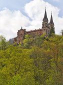 Covadonga Santuario, Asturias, España