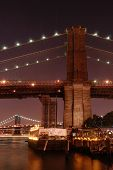Down Under The Manhattan And Brooklyn Bridge