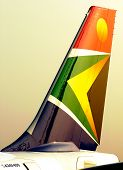 Cola de avión de South African Airways