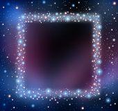 Space Blank Frame