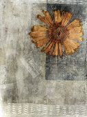 Pressed Flower Mixed Medium