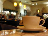 Cup In Cafe