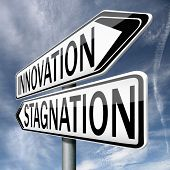 innovation or stagnation, product development in an  innovative project or stagnation economy