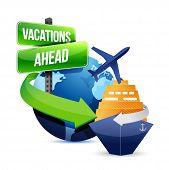 Urlaub voraus