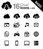 Basic - Cloud computing Icons