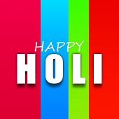 Indian colorful festival Holi celebration background. EPS 10.