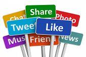 Social-Media-Konzept