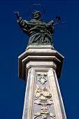 Marble Statue Of Saint San Domenico