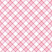 Pink Stripe Plaid