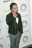 BEVERLY HILLS - MARCH 13: Johnny Galecki arrives at the 2013 Paleyfest