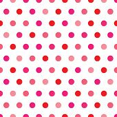 Pink Polka Dot Pattern