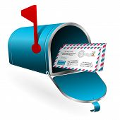 Mail And E-mail Concept