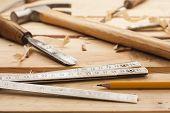 Ferramentas de carpinteiro