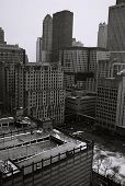 City Buildings In Chicago, Illinois