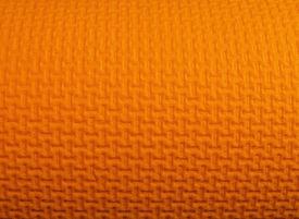 stock photo of yoga mat  - design on a foam yoga mat - JPG