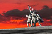 World War Ii Victory Monument In Riga