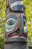 Totem Pole In Pioneer Square Park